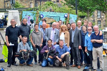 An unprecedented image, ITV and BBC teams combine for the Great Get Together in memory of MP Jo Cox